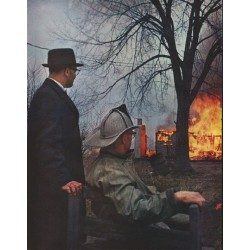 "1961 The Face of America Article ""Fireman Sits One Out"""