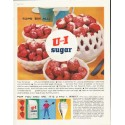 "1961 U and I Sugar Ad ""tops 'em all!"""