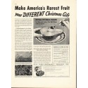 "1937 Bear Creek Orchards Ad ""Rarest Fruit"""