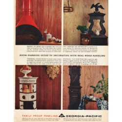 "1961 Georgia-Pacific Ad ""Room-warming guide"""