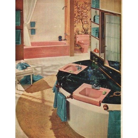 "1961 American-Standard Ad ""Bathrooms Are Beauty Rooms"""