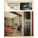 "1961 Westinghouse Ad ""total electric home"""