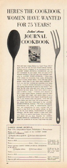 1961 Ladies Home Journal Vintage Ad Quot Here S The Cookbook Quot