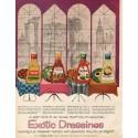 "1961 Kraft Ad ""Exotic Dressings"""