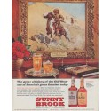 "1961 Sunny Brook Ad ""The great whiskey of the Old West"""