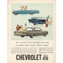 "1961 Chevrolet Ad ""You can travel"""