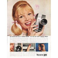 "1962 Revere Movie Camera Ad ""a perfect movie"""