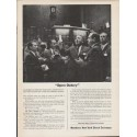 """1962 Members New York Stock Exchange Ad """"Open Outcry"""""""