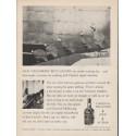 "1962 Jack Daniel's Whiskey Ad ""Our neighbors' best grains"""