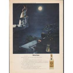 "1962 Seagram's Ad ""Balcony Scene"""