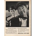 """1962 Western Airlines Ad """"These guys who fly Western"""""""