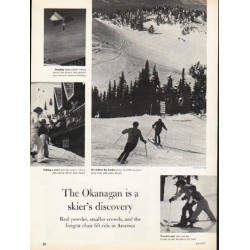 "1976 Okanagan Article ""skier's discovery"""