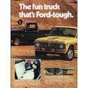 "1976 Ford Courier Ad ""The fun truck"" ~ (model year 1976)"
