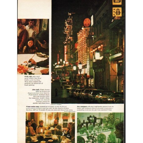 "1976 San Francisco's Chinatown Article ""Year of the Dragon"""