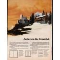 "1976 Andersen Windowalls Ad ""from sea to shining sea"""