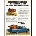 "1976 Datsun Ad ""Some Strong Reasons"" ~ (model year 1976)"