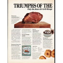 "1976 Jenn-Air Ad ""Triumphs of the American Table"""