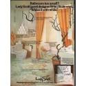 "1976 Lady Scott Ad ""Bathroom too small?"""