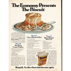 "1976 Bisquick Ad ""The Economy Presents"""
