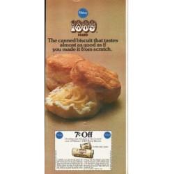 """1976 Pillsbury Ad """"1869 Brand"""""""