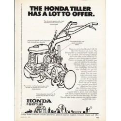 """1976 Honda Ad """"The Honda Tiller"""""""