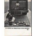 "1962 Railway Express Agency Ad ""cuts shipping charges"""