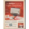 """1962 Apeco Ad """"Copies Everything"""""""