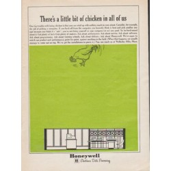 "1962 Honeywell Ad ""a little bit of chicken"""