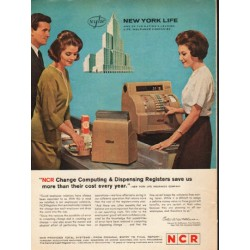"1962 NCR Registers Ad ""Change Computing"""
