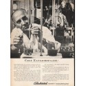 """1962 Consolidated Paper Ad """"Chef Extraordinaire"""""""