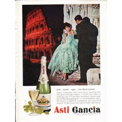 "1962 Asti Gancia Ad ""wine ... words"""