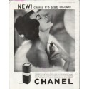 "1958 Chanel Cologne Ad ""For the first time"""