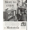 "1958 Motorola Television Ad ""More to enjoy"""