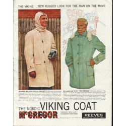 "1958 McGregor Sportswear Ad ""The Viking"""