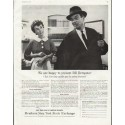 "1958 Members New York Stock Exchange Ad ""Bill Dempster"""