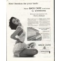 "1958 Simmons Mattress Ad ""New freedom"""