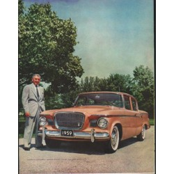 """1959 Studebaker Ad """"Your New Dimension"""" ~ (model year 1959)"""