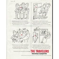 "1958 Travelers Insurance Ad ""Bob Higbee"""