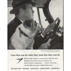 "1959 Plymouth Ad ""what they look like"" ~ (model year 1959)"