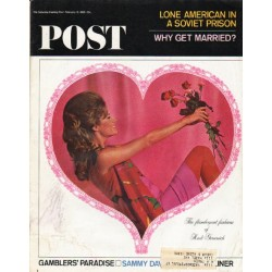 "1965 Saturday Evening Post Cover Page ""Rudi Gernreich"" ~ February 13, 1965"
