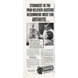 "1965 Anacin Ad ""Strongest"""