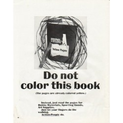 "1965 Yellow Pages Ad ""Do not color"""