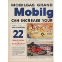 "1950 Mobilgas Ad ""Grand Canyon Run"""