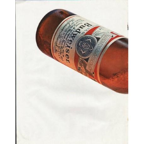 "1965 Budweiser Beer Ad ""Every drop"""