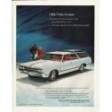 "1965 Oldsmobile Ad ""Vista-Cruiser"" ~ (model year 1965)"