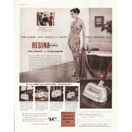 "1956 Regina Polisher Ad ""Polisher and Scrubber"""