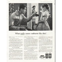 "1956 Postum Ad ""outbursts"""