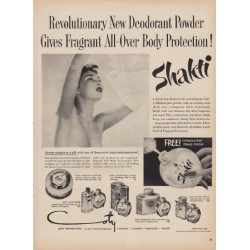 "1950 Shakti Ad ""New Deodorant Powder"""