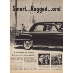 "1950 Dodge Ad ""Smart ... Rugged ... and Loaded with Value!"""