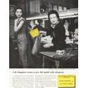 """1956 Western Union Ad """"Ceil Chapman"""""""